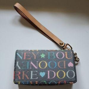 Dooney & Bourke rare wristlet wallet card holder